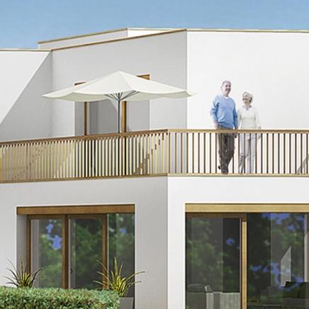 2 Terrassen I OG