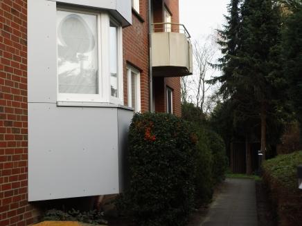 Zugang von der Arnimstraße
